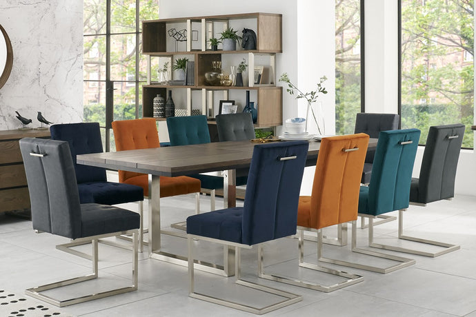 New York 11-Piece Dining Set - Everhome Designs