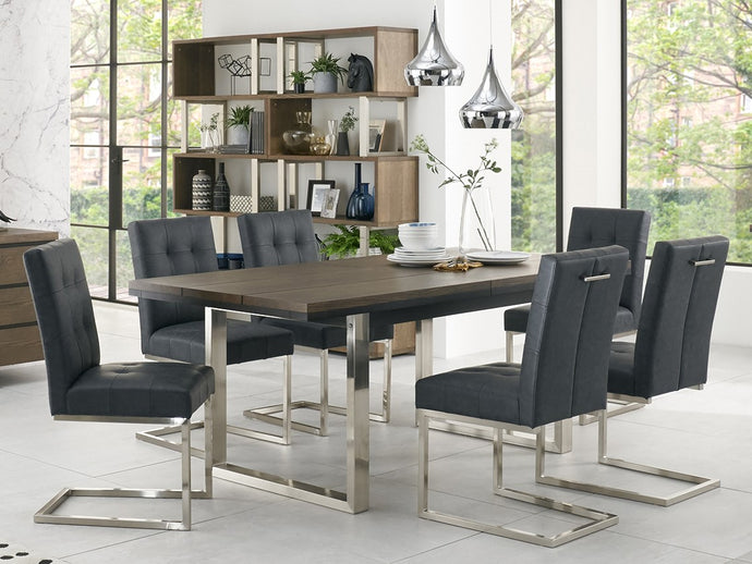New York 7-Piece Dining Set - Everhome Designs