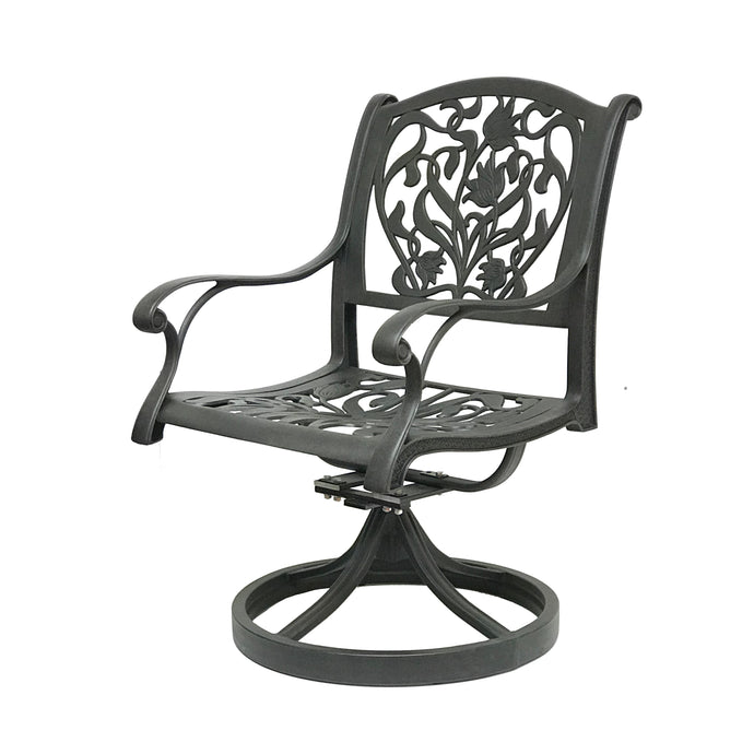 Victoria Swivel Rocking Chair (Set of 2) - Everhome Designs