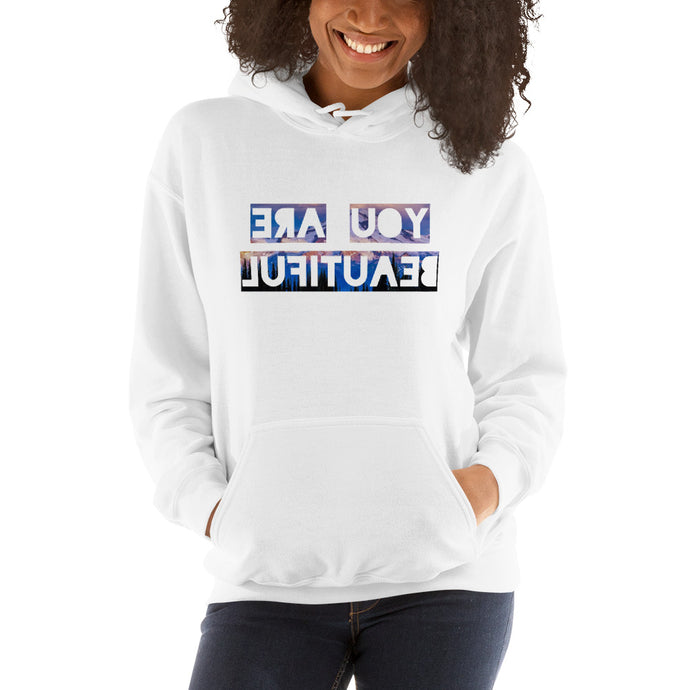 You Are Beautiful First Edition Hooded Sweatshirt