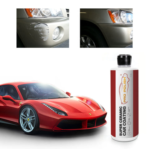 9h Scratch Proof Ceramic Coating Hydrophobic Propolish