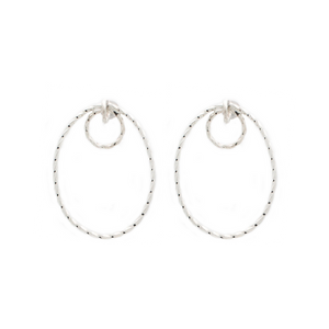 Orbit Earrings - Silver