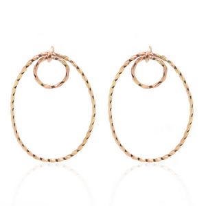Orbit Earrings - Gold