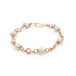 Fantasy Bracelet – Copper/Aquamarine