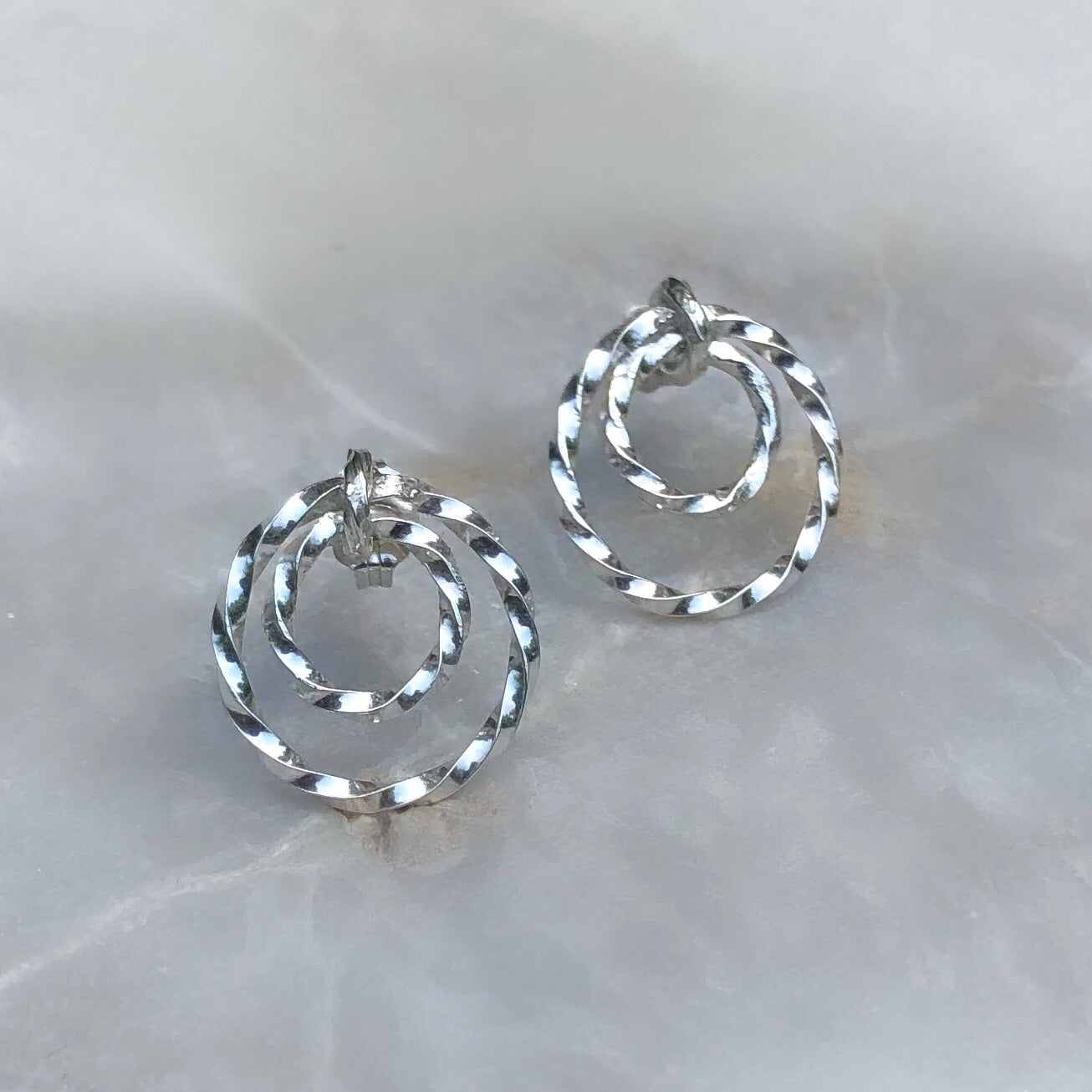 Loyalty Earrings - Silver