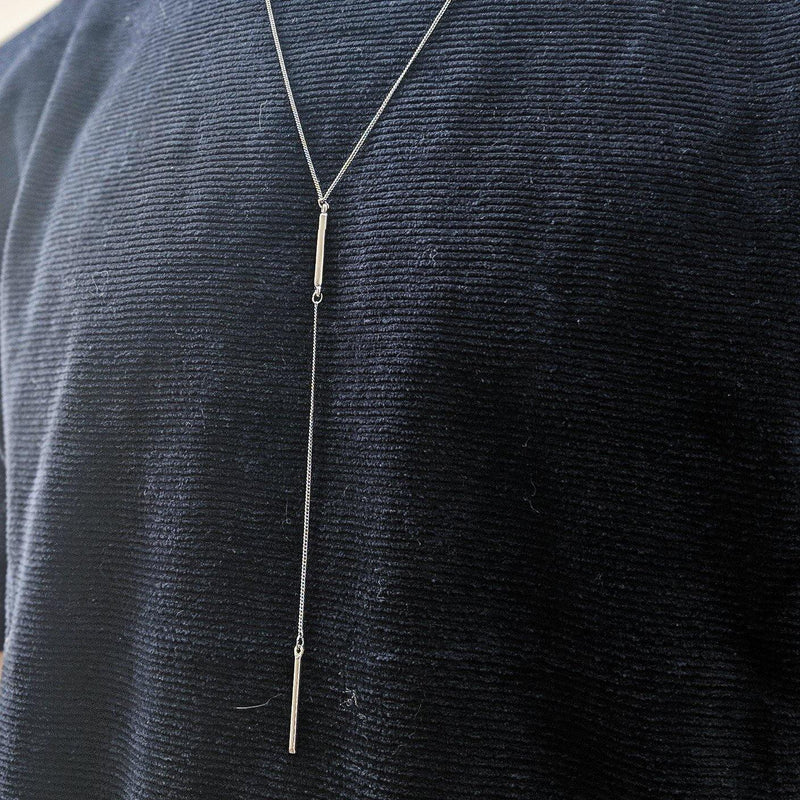 Skinny Chain Necklace in Gold