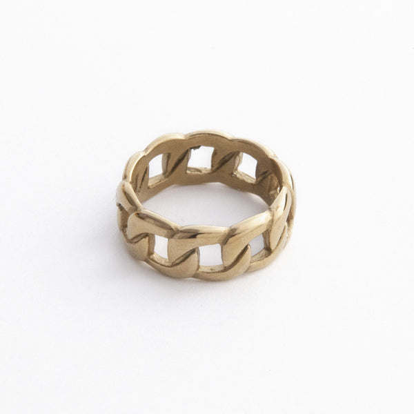 Gold Chain Ring | DesignB - SEO - designblondon