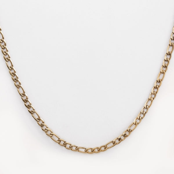Gold Figaro Necklace | DesignB - SEO - designblondon