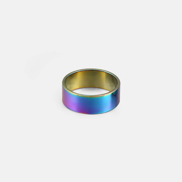 Iridescent Band Ring