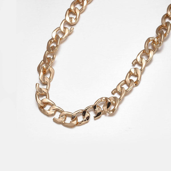Broken Link Neckchain In Gold
