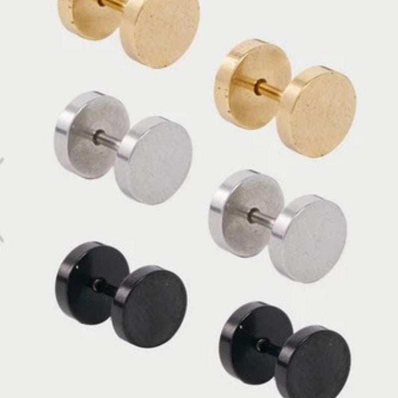 Designb Plug Earring Set