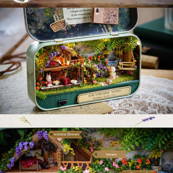 Funny Countryside - DIY Handmade Miniature Box Theatre_2