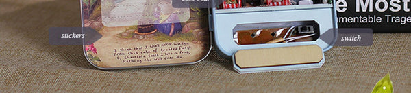 Squirrel - DIY Handmade Miniature Box Theatre_9