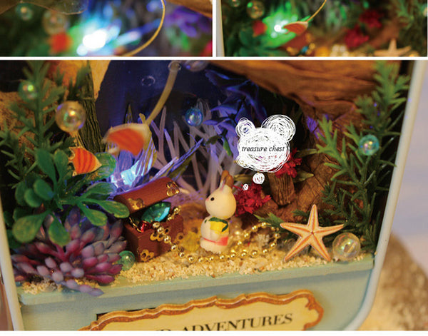 Island Adventures - DIY Handmade Miniature Box Theatre_6