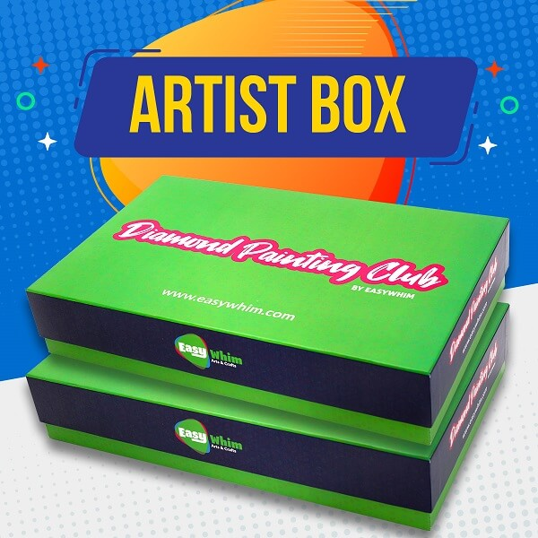 Artist Box - 1 XL, 2 Large DP Kits & $70 of Surprise Crafts