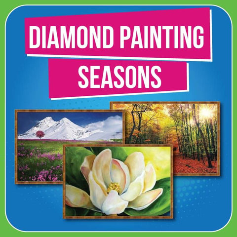 Diamond Painting Collection Seasons Easy Whim