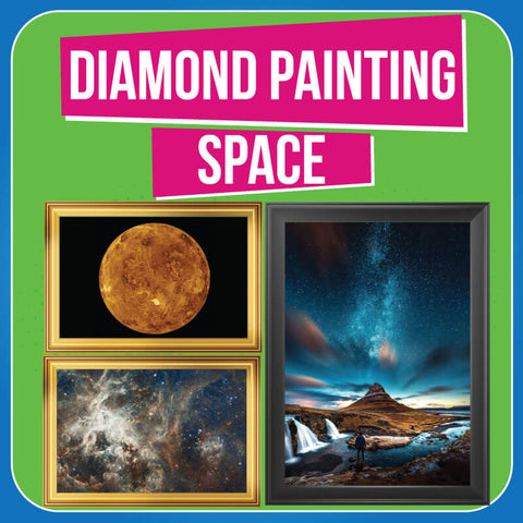 Diamond Painting Space Collection Easy Whim