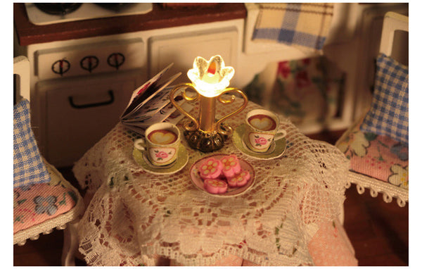 Happy Kitchen - DIY Handmade Miniature Box Theatre_6