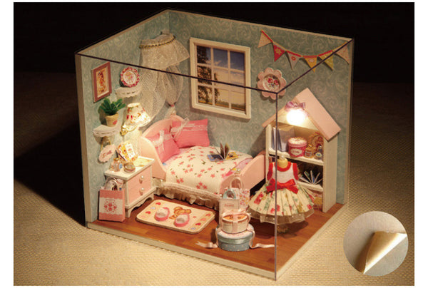 Happy Little Room - DIY Handmade Miniature Box Theatre_7
