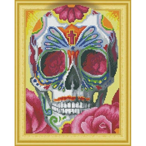Abstract Skulls - DIY 5D Diamond Painting - 3D Drill-EasyWhim