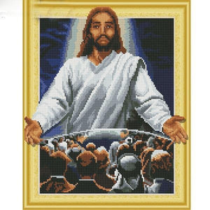 Almighty God - DIY 5D Diamond Painting - 3D Drill-EasyWhim