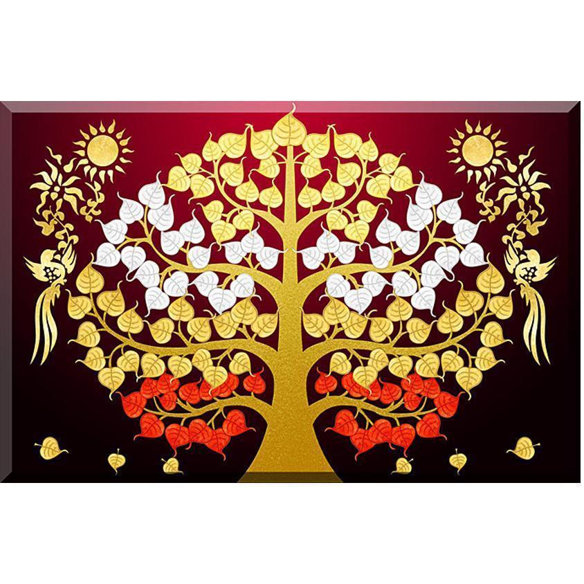 Bedazzled Bodhi Tree - Exclusive Diamond Painting Collection-EasyWhim