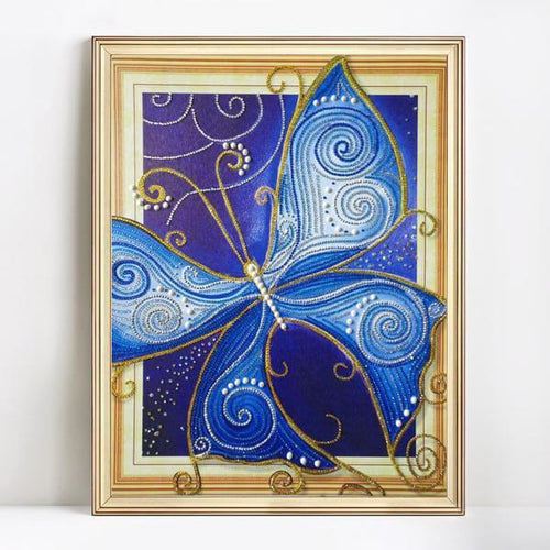 Bedazzled Butterfly - Exclusive Diamond Painting Collection-EasyWhim