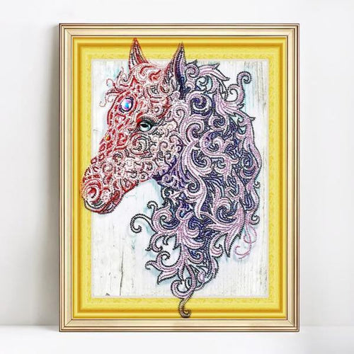 Bedazzled Mystic Unicorn - Exclusive Diamond Painting Collection-EasyWhim