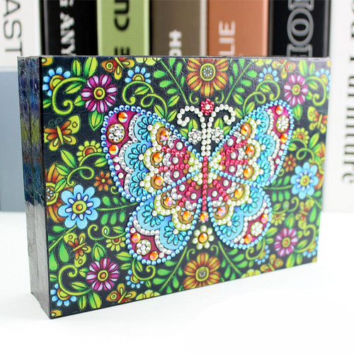 Butterfly Goddess - DIY Diamond Painting Jewelry Box-EasyWhim