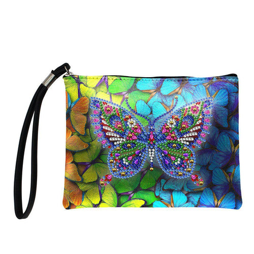 Butterfly Queen - DIY Diamond Painting Purse-EasyWhim