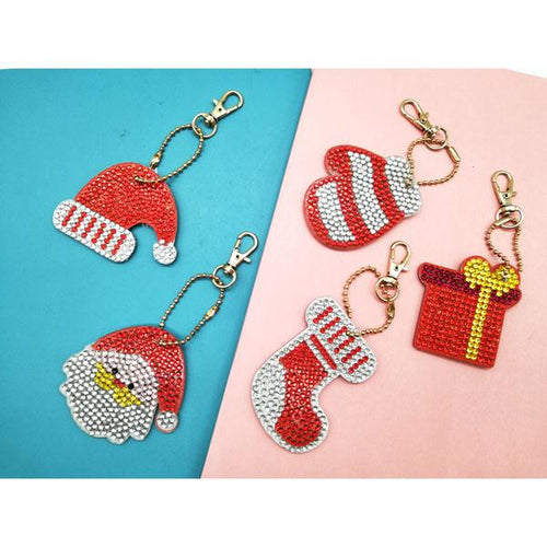 Christmas - 5D Diamond Key Ring Collection-EasyWhim