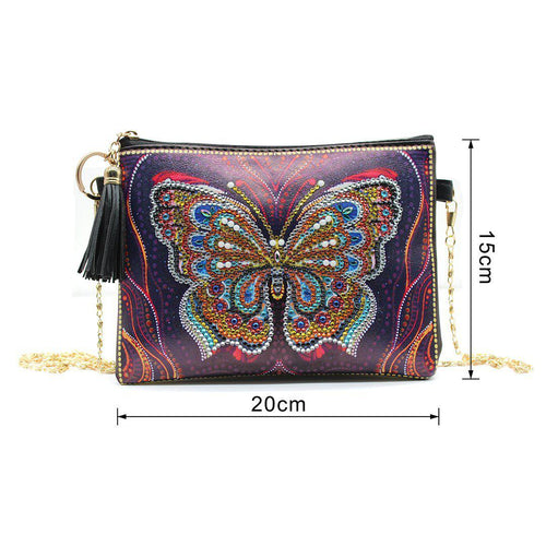 Colorful Butterfly - DIY Diamond Painting Bags-EasyWhim