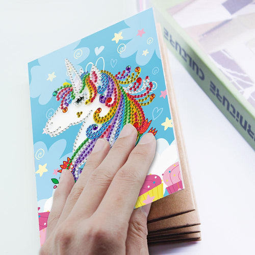 Colorful Unicorn - Diamond Painting Photo Album-EasyWhim