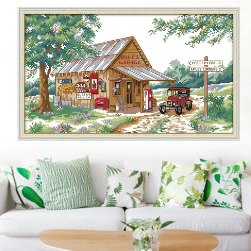 County Store - Cross Stitch Kit-EasyWhim