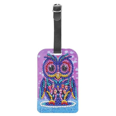Diamond Painting Luggage Tags-EasyWhim