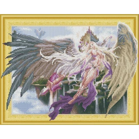 Divine Angels - DIY 5D Diamond Painting - 3D Drill-EasyWhim