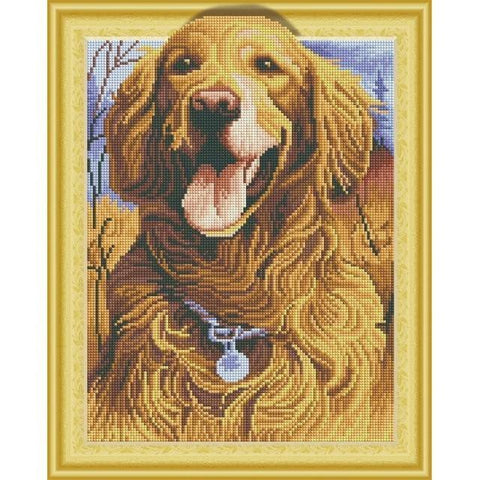 Doggies - DIY 5D Diamond Painting - 3D Drill-EasyWhim