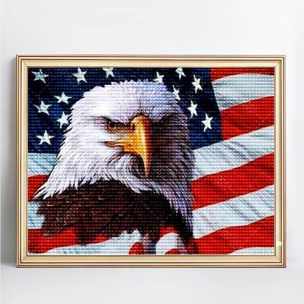 Eagle USA - DIY 5D Diamond Painting - Full Drill-EasyWhim