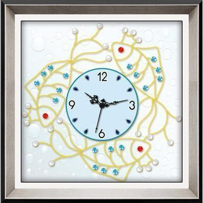 Fishy Clock - DIY 5D Diamond Painting Clocks-EasyWhim
