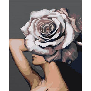 Flower Model - DIY Oil Painting on Canvas - Paint By Numbers-EasyWhim