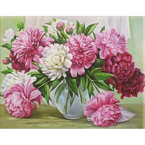 Flower Vase - Cross Stitch Kit-EasyWhim