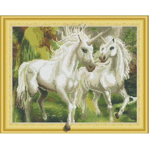 Free Horses - DIY 5D Diamond Painting - 3D Drill-EasyWhim