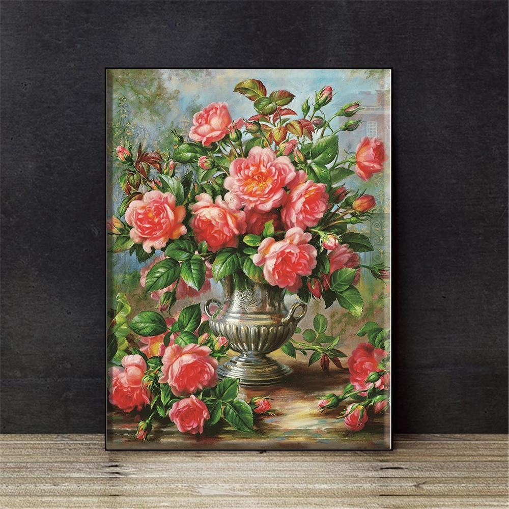 Gorgeous Florals - Cross Stitch Kit-EasyWhim
