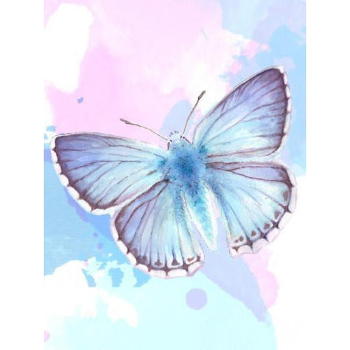 Heavenly Butterfly - DIY Oil Painting on Canvas - Paint By Numbers-EasyWhim