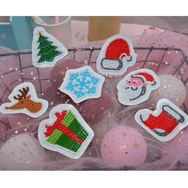 Holidays Stickers (7 Pack) - 5D Diamond Painting-EasyWhim
