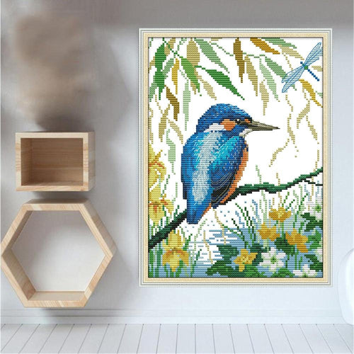 Hummingbird - Cross Stitch Kit-EasyWhim