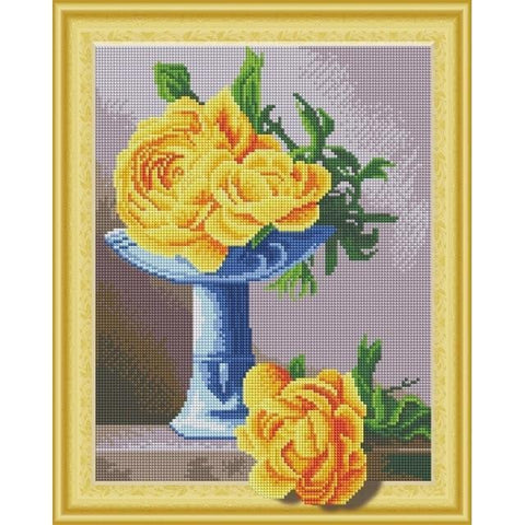 I Love Floral - DIY 5D Diamond Painting - 3D Drill-EasyWhim