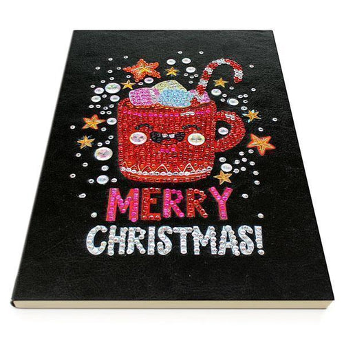 Merry Christmas - Diamond Painting A5 Notebook-EasyWhim