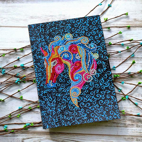 Mystics - Diamond Painting A5 Notebook-EasyWhim