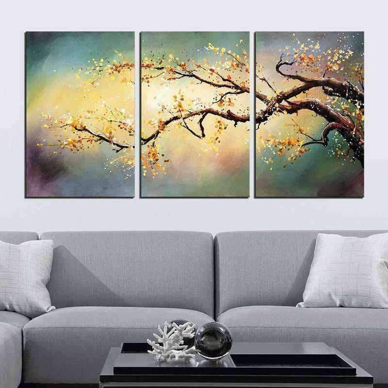 Peach Tree Multi Drawing - DIY 5D Diamond Painting - Full Drill-EasyWhim